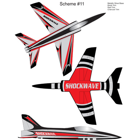 Elite Aerosports Shockwave Sports Jet Scheme #11-0