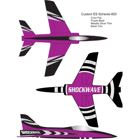 Elite Aerosports Shockwave Sports Jet Scheme #20-0