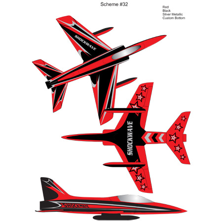 Elite Aerosports Shockwave Sports Jet Scheme #32-0