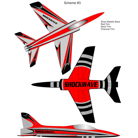 Elite Aerosports Shockwave Sports Jet Scheme #03-0