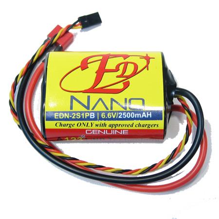 ED-Nano 6.6V 2500mAH - High Current Deans Connector-0