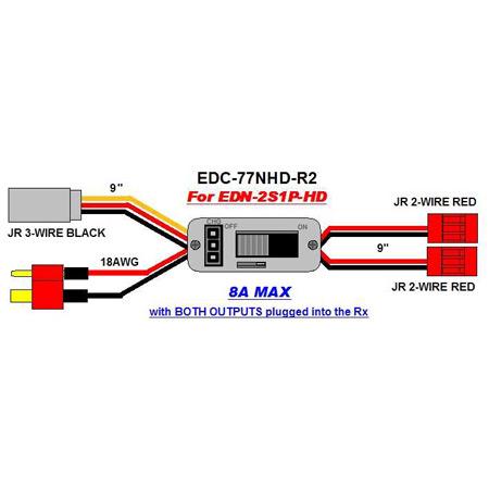 EDR-77NHD-R2 Ultra Switch Nano HD Balance-Charge switch-84024