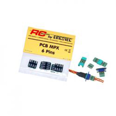 """MPX PCB """"6 Pins"""", 5 pieces-80550"""