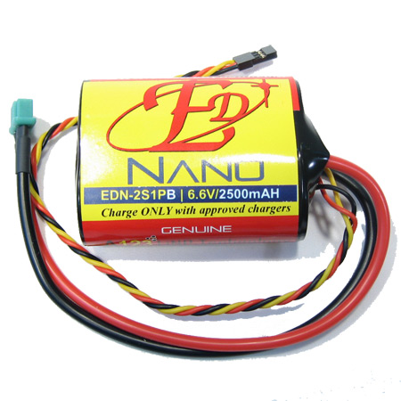 ED-Nano 6.6V 2500mAH - High Current MPX Connector-0