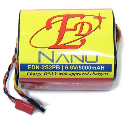 ED-Nano 6.6V 5000mAH - JR Connector-0