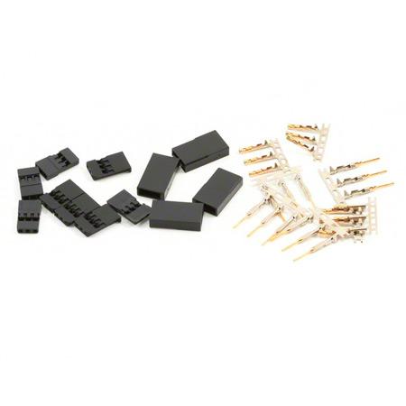 JST-SH Servo Plug Set (JR) Gold Plated (10pairs/set)-0