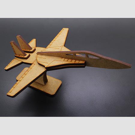 Military Jet Laser Cut Wood Model F-14