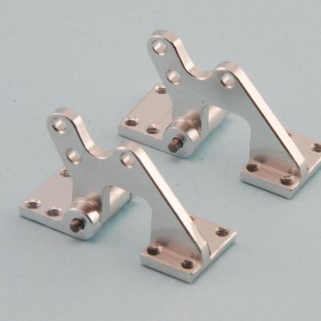CNC Aluminum Offset Door Hinges 2 Pack-0