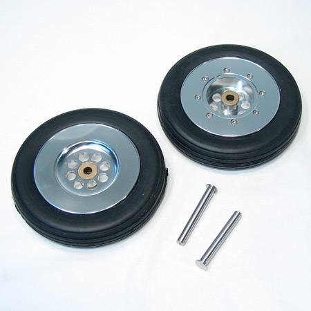 """Intairco Main Wheels - 4 1/2"""" (115mm) - No Brake-0"""