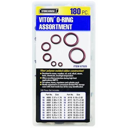 Viton O-Ring Assortment - Metric-0