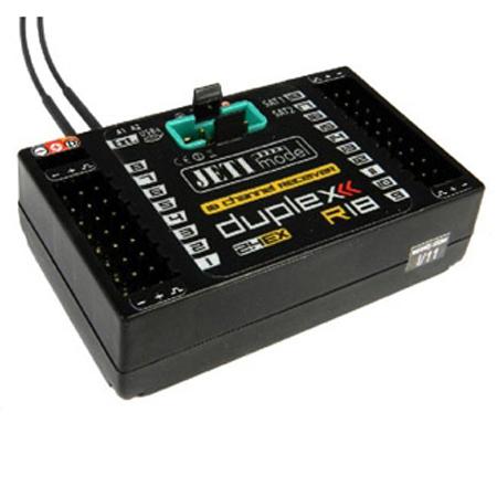 Jeti Duplex EX R18 2.4GHz Receiver w/Telemetry