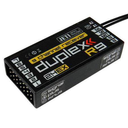 Jeti Duplex EX R9 2.4GHz Receiver w/Telemetry