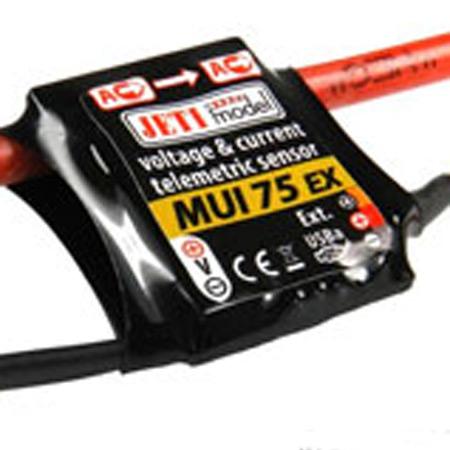 Jeti Telemetry Sensor Current/Voltage MUI EX 75