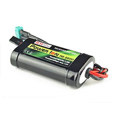 Jeti Receiver Battery Pack 2600mAh 7.2V Li-Ion Power RB