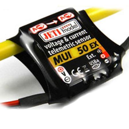 Jeti Telemetry Sensor Current/Voltage MUI EX 50
