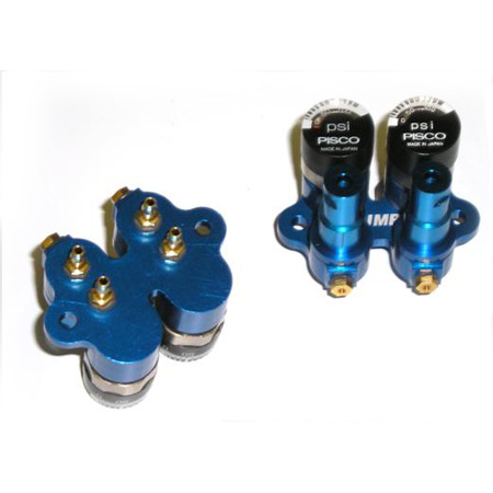 "2-Circuit Fill Valve Panel: 1/8"" Air Line"