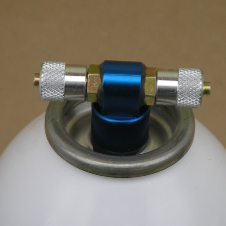 """Air Tank-T-Fitting 1/8"""" Extra Large 1000 ml-85708"""