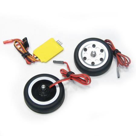 50mm Electric Brake and Wheel Set-V2-0