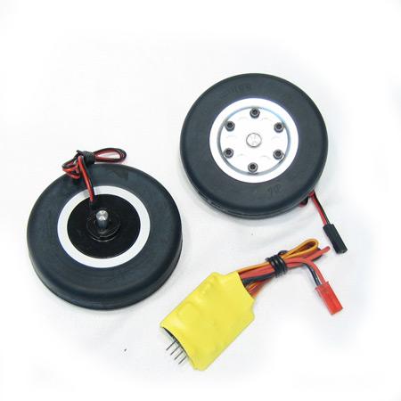 60mm Electric Brake and Wheel Set-V2-0