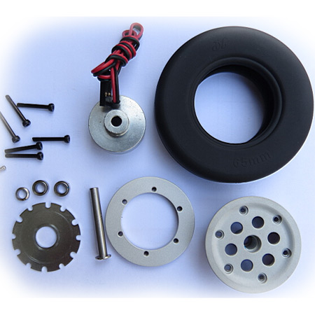 55mm Electric Brake and Wheel Set-85538