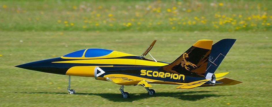 Aviation Design Scorpion ARF Racing - Gold Sport Jet-87015