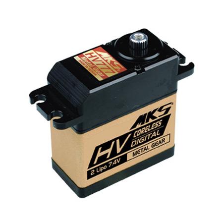 HV777 High Voltage High Torque Digital Servo 527oz @ 8.4v