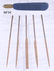 Needle File Set W/Handle-0