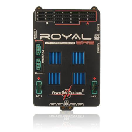 PowerBox Royal SRS incl. LC-Display, w/o GPS