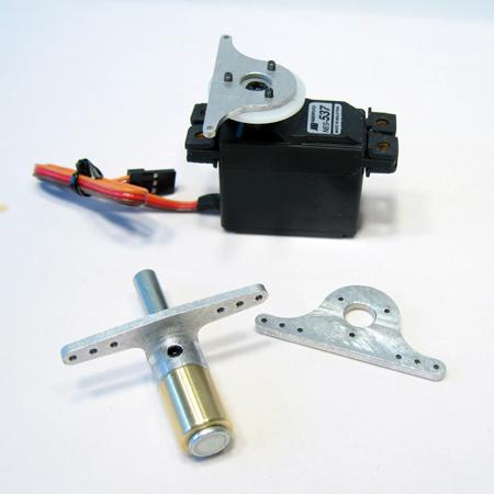 """Pro-Link 1/2"""" Steering Tiller Assembly - Offset 1/4"""" Pin-0"""