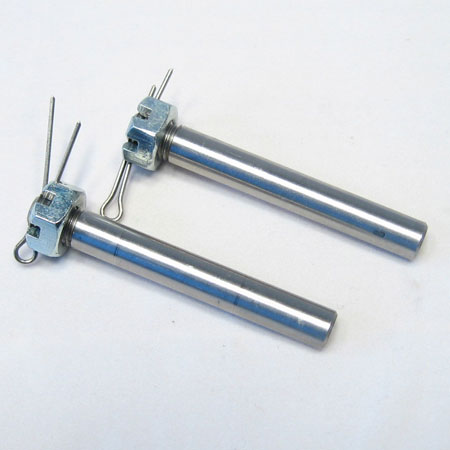 """Pro-Link 1/4"""" Axles PAIRS w/Nuts and Cotter Pin-0"""