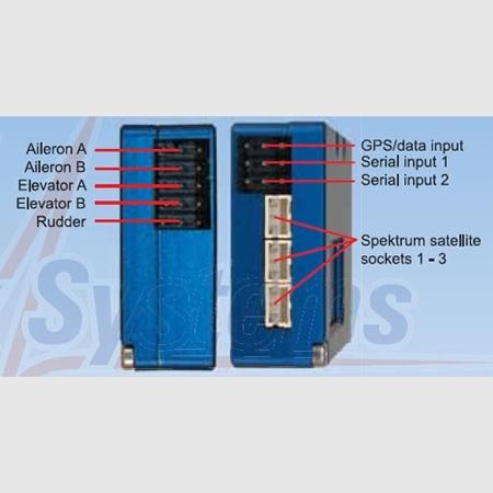 PowerBox iGyro inc Sensor Switch, GPS-Sensor & USB interface adapter