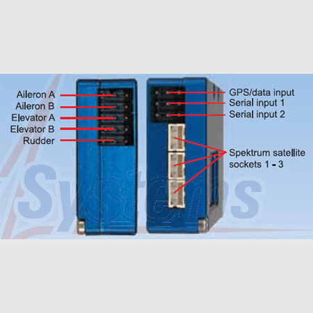 PowerBox iGyro,..withSensor switch, without USB-Interface Adapter, without GPS-Module