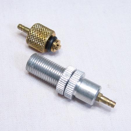 Fill Valve & Fill Chuck for Pressurizing pneumatic systems