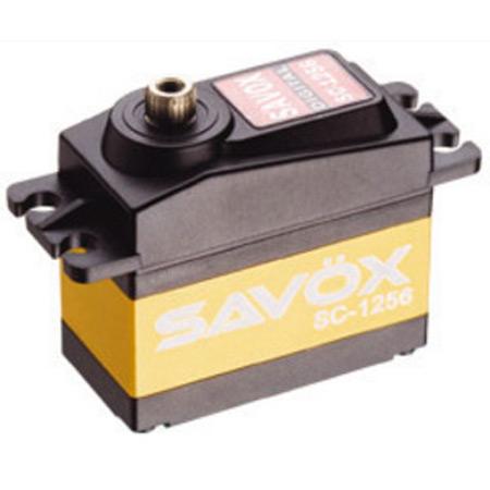 """Savox SC-1256TG Standard Digital """"High Torque"""" Titanium Gear Servo-0"""