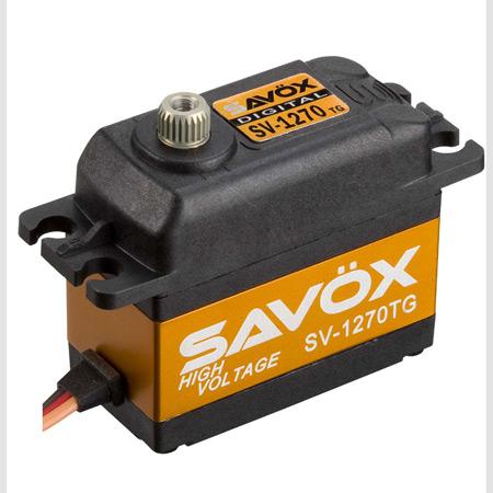 "Savox SV-1270TG Digital ""Monster Torque"" Titanium Gear Servo (High Voltage)"