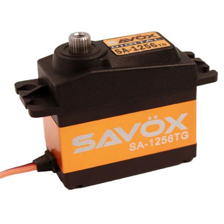 "Savox SC-1256TG Digital ""High Torque"" Titanium Gear Servo"