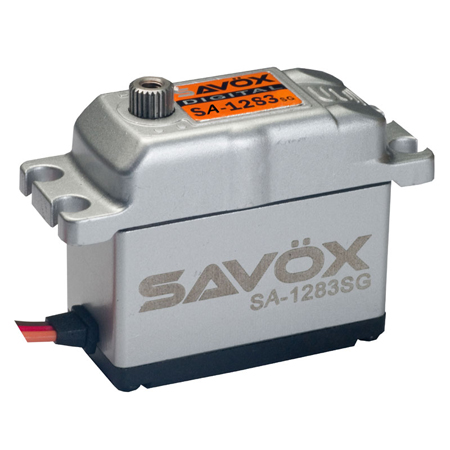 "Savox SA-1283SG Aluminum Case ""Super Torque"" Steel Gear Digital Servo"