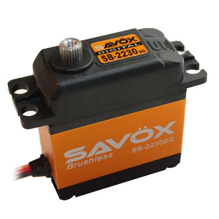 Savox SB-2230SG Monster Torque Brushless Steel Gear Servo (High Voltage)