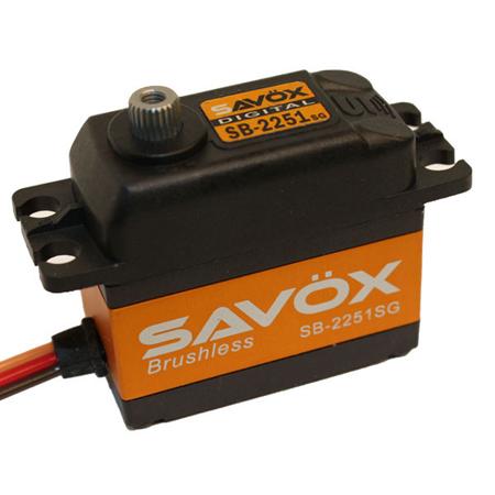 SAVOX SB2251SG Brushless Digital Servo