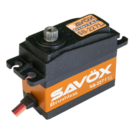 "Savox SB-2271SG ""High Speed"" Brushless Digital Servo (High Voltage)"