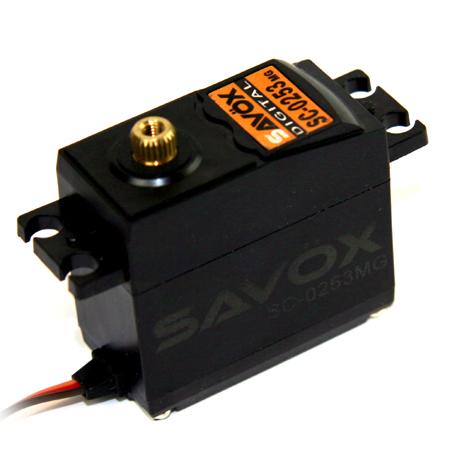 Savox SC-0253MG Standard Digital Servo with Metal Gears