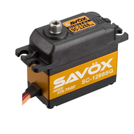 """Savox SC-1268SG """"High Torque"""" Steel Gear Digital Servo (High Voltage)"""