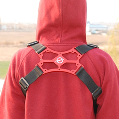 SECRAFT Neck Strap Double - Red-81906