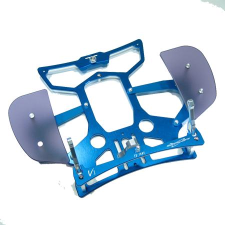 SECRAFT Transmitter Tray V1 Hand Rest - Blue-81921