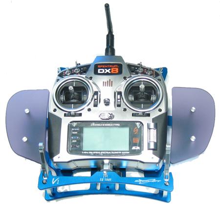 SECRAFT Transmitter Tray V1 Hand Rest - Blue-81922