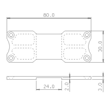 SECRAFT Battery Bed S - Red-84513
