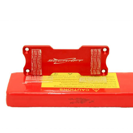 SECRAFT Battery Bed S - Red-84511