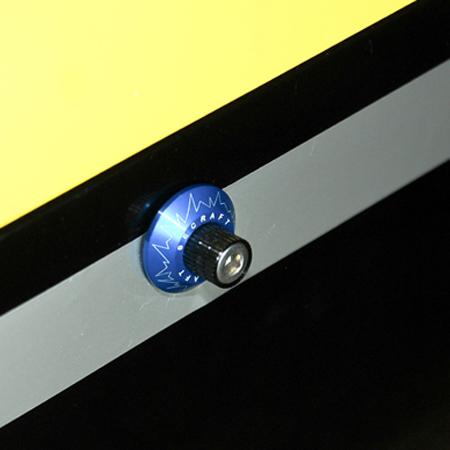 SECRAFT Canopy Lock V1_#6-32 (2) - Blue-83051