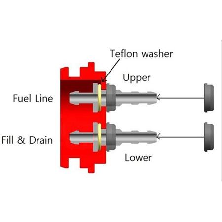 SECRAFT Fuel Can Nipples-84493
