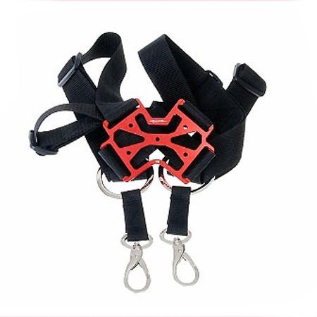 SECRAFT Neck Strap Double V2 - Red-0